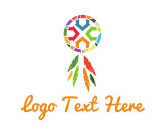Spiritual - Dream Catcher logo design