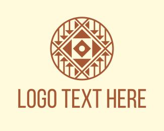 Tattoo - Tattoo Aztec Pattern logo design