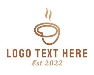 Hot Drink - Coffee Cup logo design