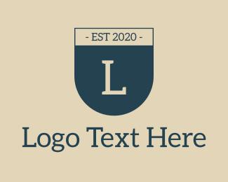 Emblem - Shield Emblem Letter logo design