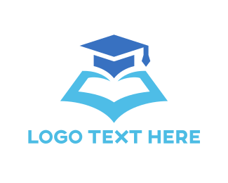 Reading - Graduation Book logo design