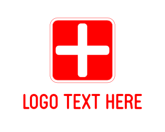 Emergency - Medical Cross logo design