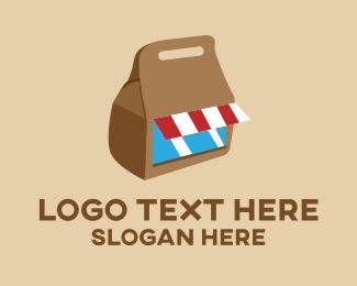 Market - Food Bag Market logo design