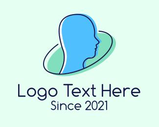 Human - Human Psychology logo design