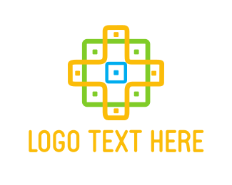 Detail - Cross Pattern logo design