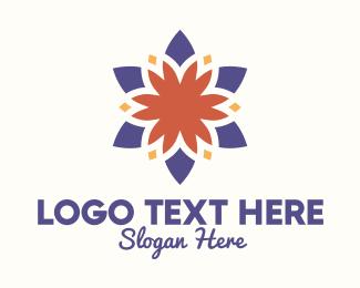 December - Multicolor Lantern logo design