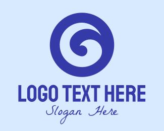 Surf Store - Ocean Wave Emblem logo design
