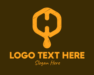 Beehive - Letter H Beehive logo design