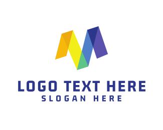 Marker - Marker M logo design