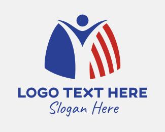 Insurance - USA Insurance logo design