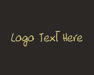 Hand Drawn - Hand Drawn Font logo design