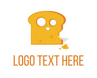 Slice - Cheese Toast logo design