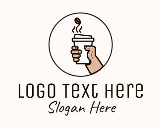 Espresso - Hot Espresso Cup logo design