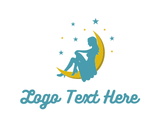 Profile - Moon Lady logo design
