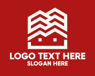 Property Management - House Cascade logo design