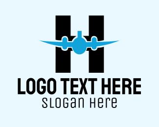 Aviation - Aviation Letter H logo design