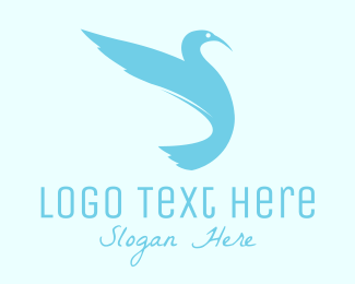 Heron - Modern Stylish Bird logo design