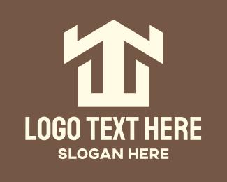 Home Listing - Real Estate Home logo design