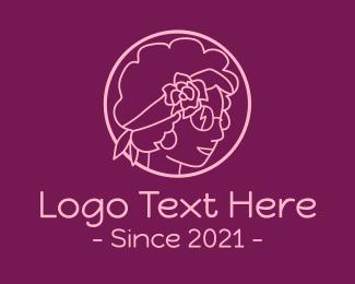 Fashion - Beauty Curly Hair logo design