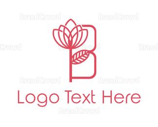 Beauty - Pink Beauty B logo design