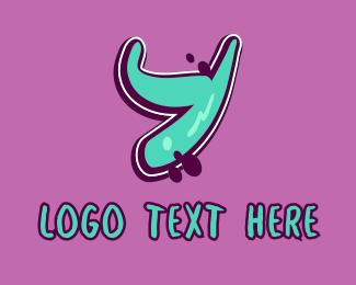 Vibrant - Modern Graffiti Letter Y logo design