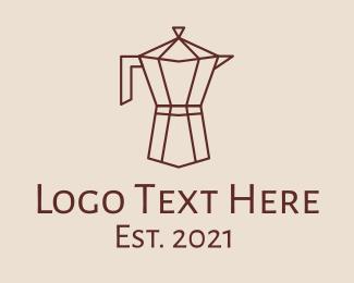 Carafe - Minimalist Coffee Carafe logo design