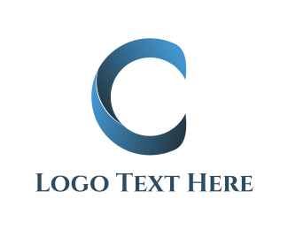 Communications - Abstract Letter C logo design