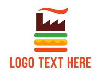 Oil Company - Burger Factory logo design