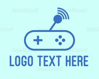 Remote - Wifi Tiny Controller logo design