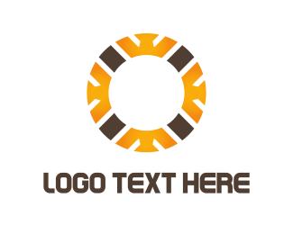 Crypto - Crown Circle logo design