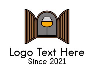 Bar - Wine Bar Cabinet logo design