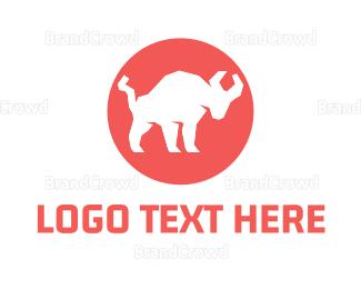 Buffalo - Bull Circle logo design