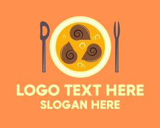 Yummy - Escargot Seafood Restaurant logo design