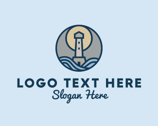Sailors - Coast Lighthouse  logo design