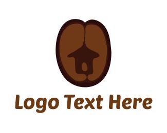 Hut - Coffee Hut logo design