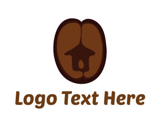 Villa - Coffee Hut logo design