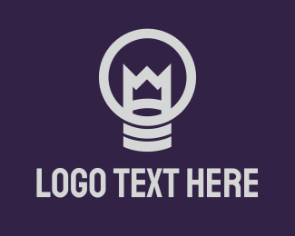 King - King Lamp logo design