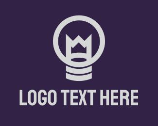 Lamp - King Lamp logo design