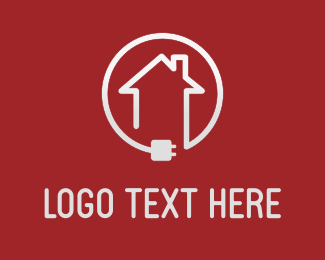 Plug In - Home Connection logo design