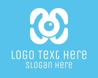 Tagline - Monster Drone logo design