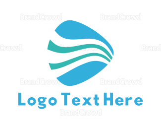 Flow - Water Pick logo design