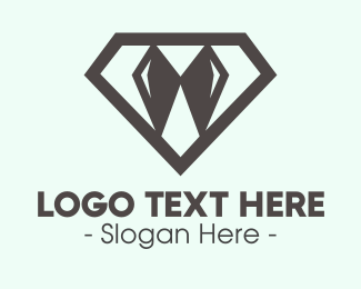 Formal Attire - Elegant Diamond Bow Tie logo design
