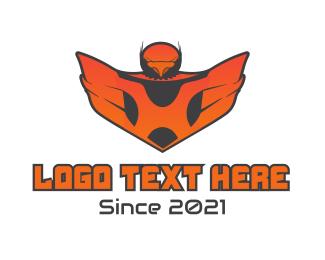 Falcon - Gaming Falcon logo design