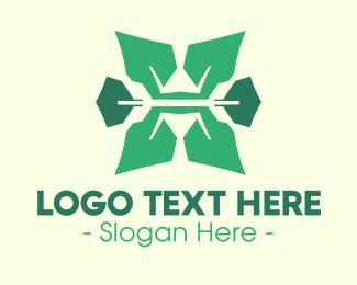 Letter - Organic Letter X logo design