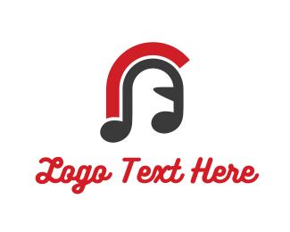 Recording - Warrior Music logo design