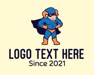Ram - Ram Superhero logo design