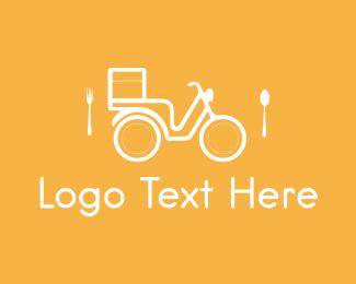 Cutlery - Food Delivery logo design