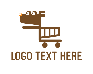 Trolley - Dog Cart logo design