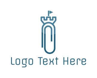Castle - Clip Castle logo design