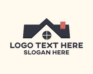 Agent - Home Roof Store logo design